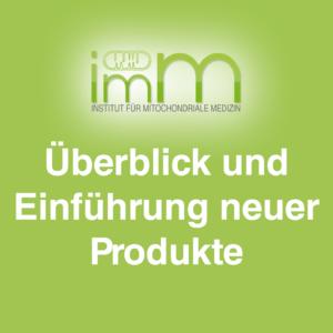 ImM Institute Überblick und Einführung neuer Produkte